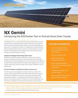 NX Gemini Landing Page_Sell Sheet